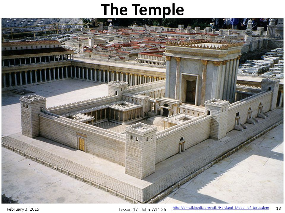 Jesus Teaches; Audiences Stumped Enters temple at mid-point of Feast Q & A format; little comprehension 3 scenes, 3 questions, 3 answers Lesson 17 - John 7:14-36 19 February 3, 2015 John 7:14-36 Relationship with the Father