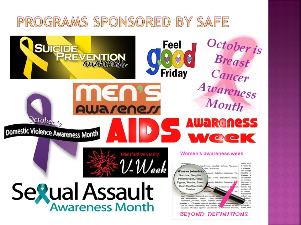 Women's awareness week Mansfield University