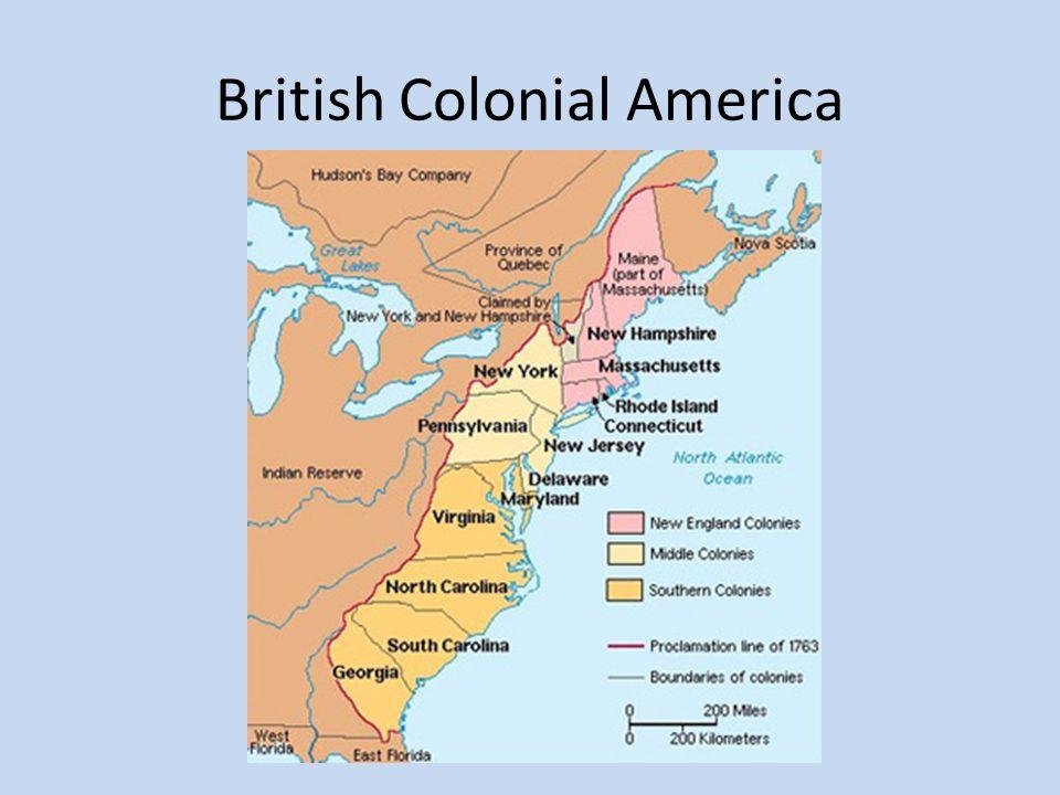 British Colonial America