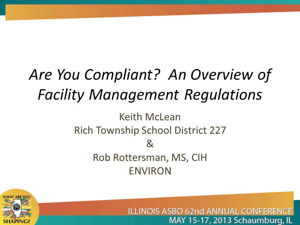 Are You Compliant.