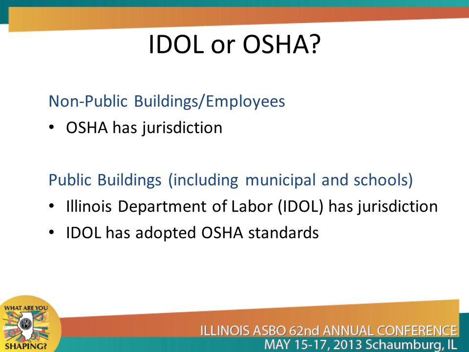 IDOL or OSHA.