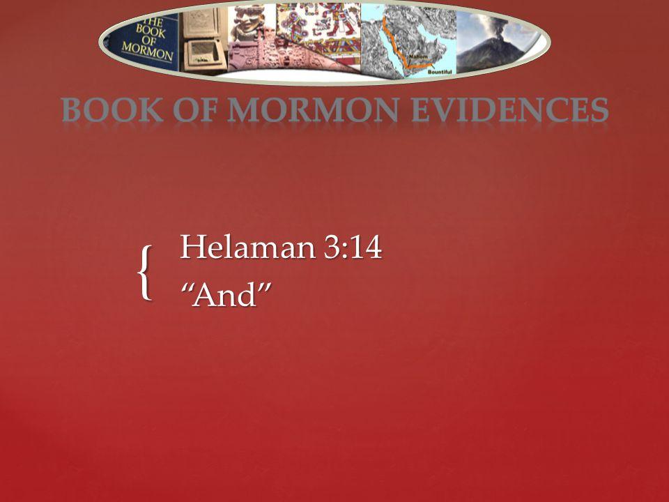 { Helaman 3:14 And