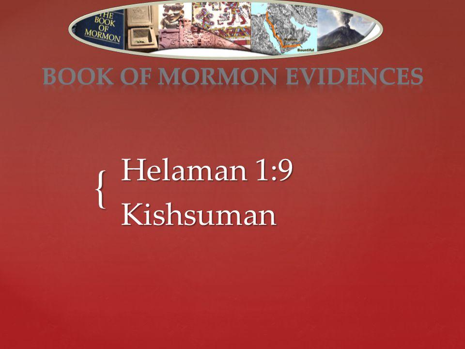 { Helaman 1:9 Kishsuman