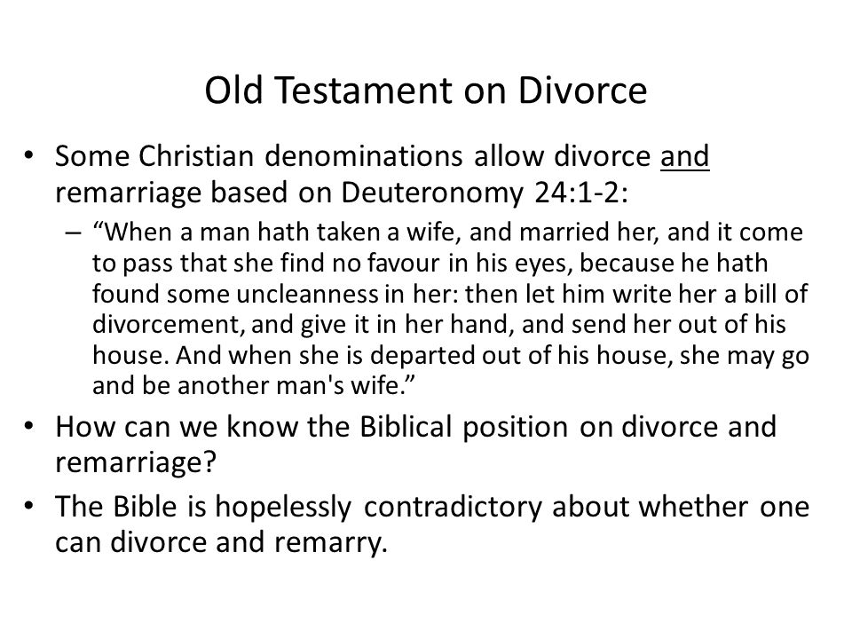 """Yet Another View 1 Corinthians 7:10-11: """"And unto the married I command, yet not I, but the Lord: Let not the wife depart from her husband: but and if"""