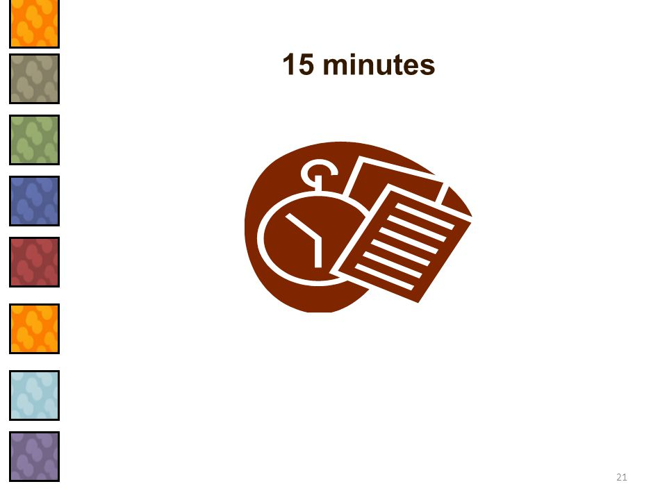 15 minutes 21