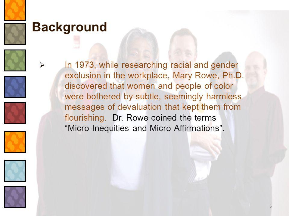 What Are Micro-Inequities.