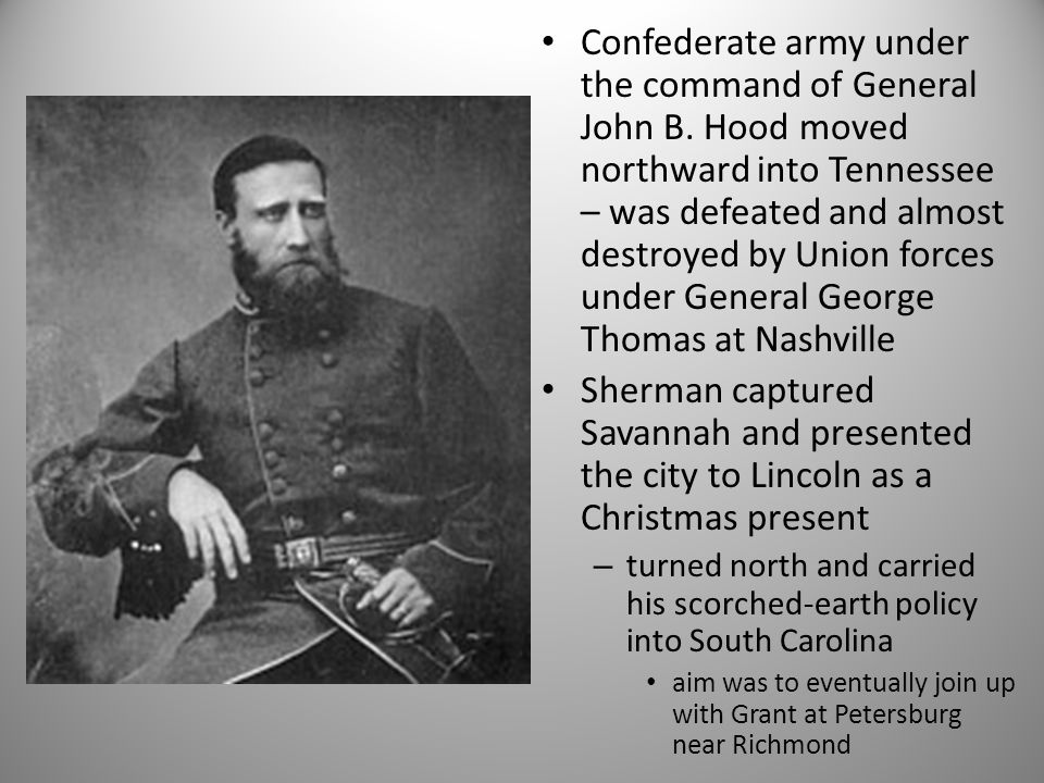 Confederate army under the command of General John B.