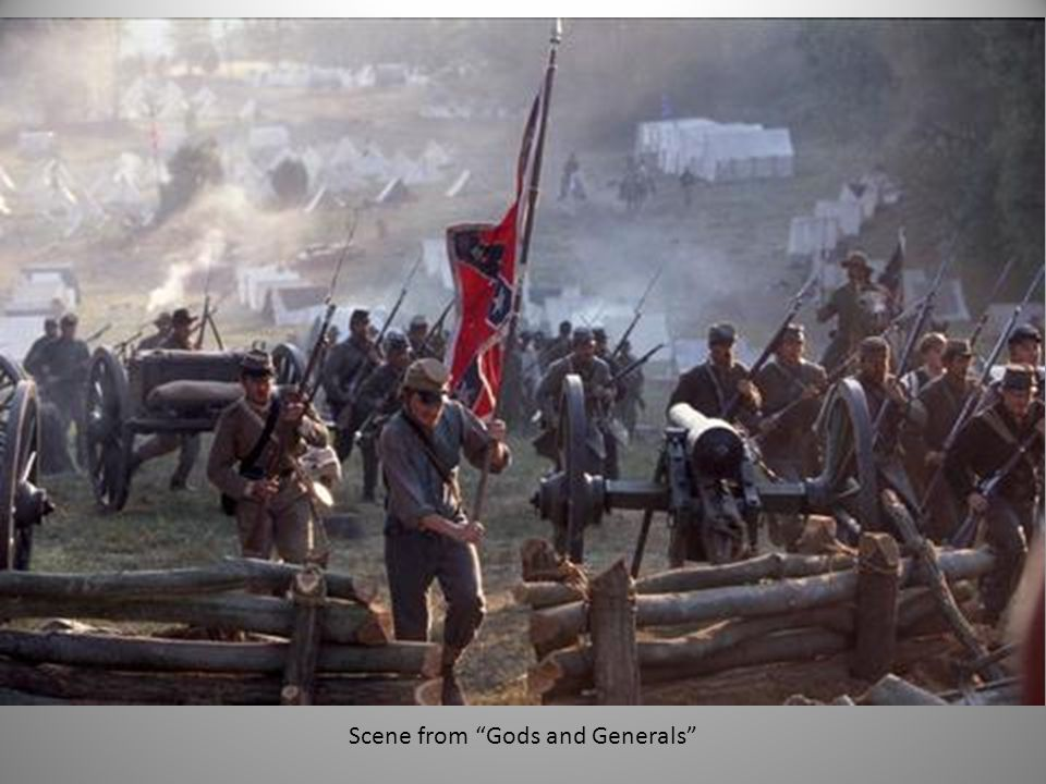 Scene from Gods and Generals