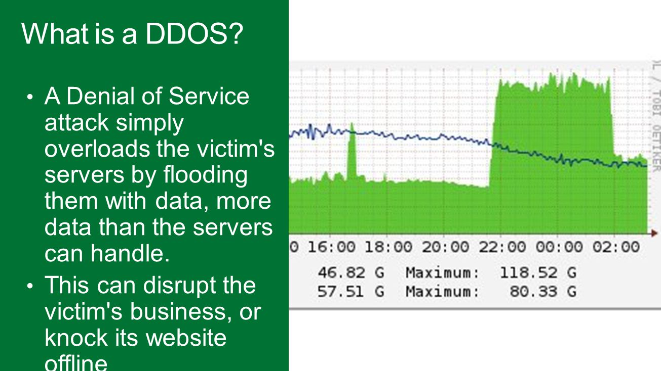What is a DDOS.