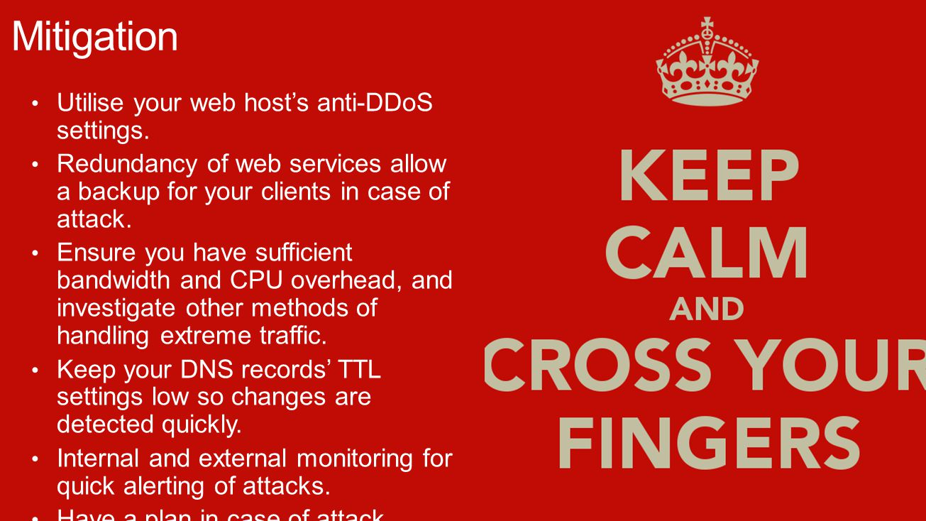 Utilise your web host's anti-DDoS settings.