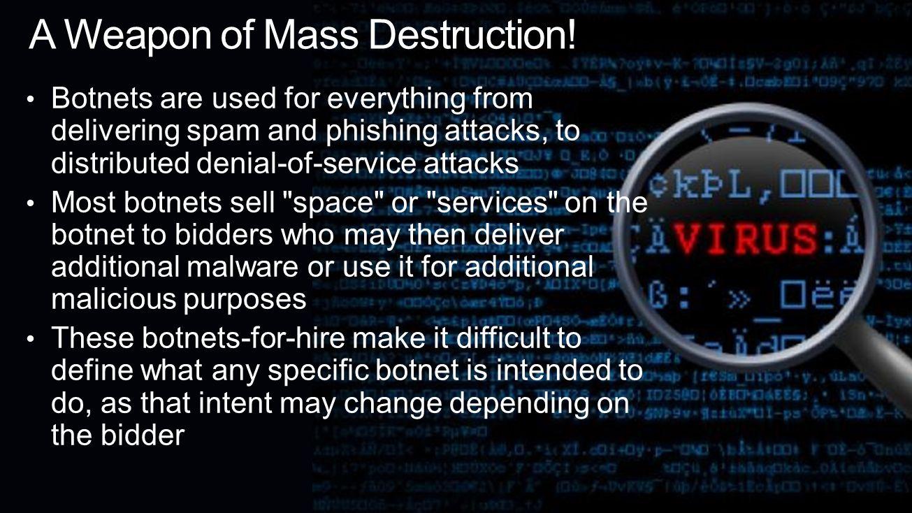 Mitigation Firewall, Intrusion Detection System (IDS), patch management, antivirus software, etc.