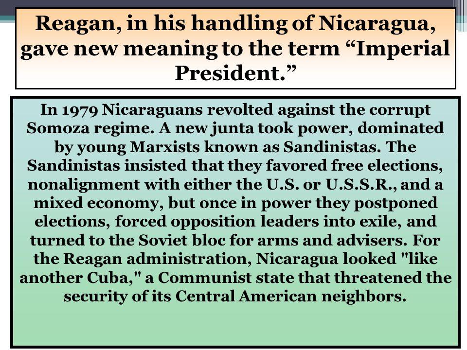 36 More trouble in neighboring Nicaragua Honduras Nicaragua El Salvador