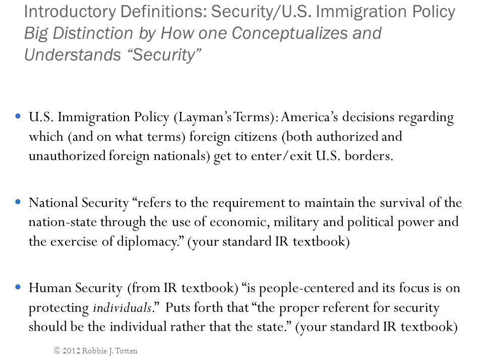 Domestic Security Objective #2: Prevent Crime (including Drug Smuggling), Espionage, and Terrorism.