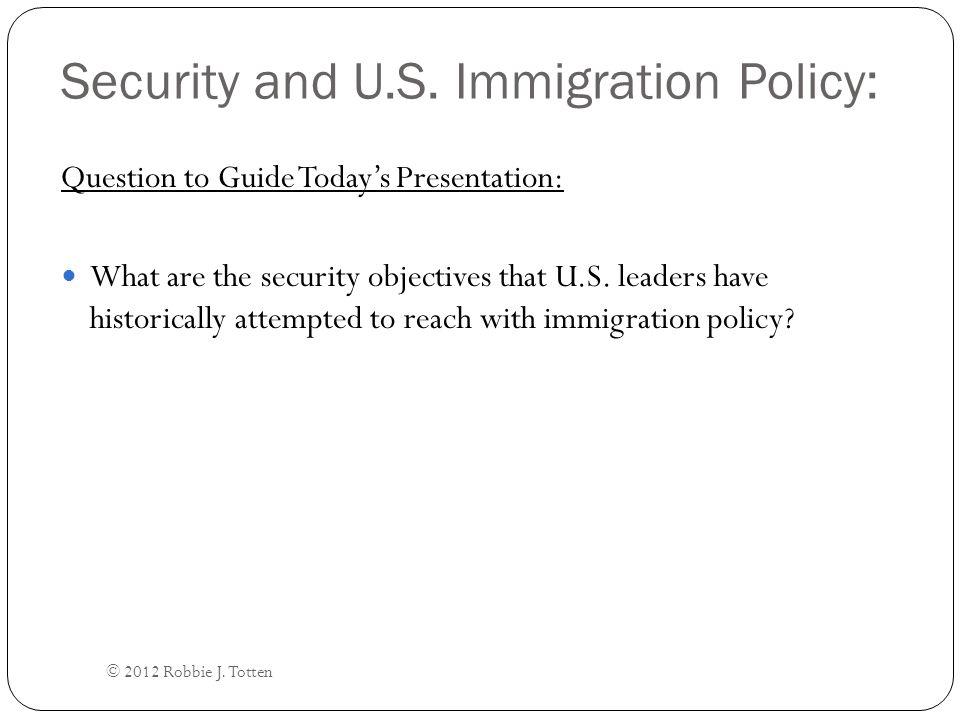 Domestic Security Objective #2: Prevent Crime, Espionage, and Terrorism.