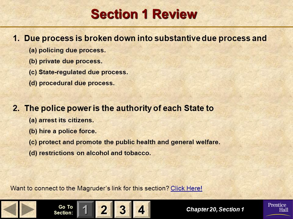 123 Go To Section: 4 Section 4 Review 1.Bail is (a) a fine you have to pay if you are arrested.