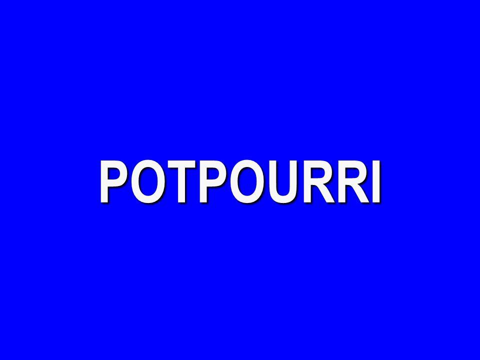 POTPOURRI - $400 What is just world phenomenon.