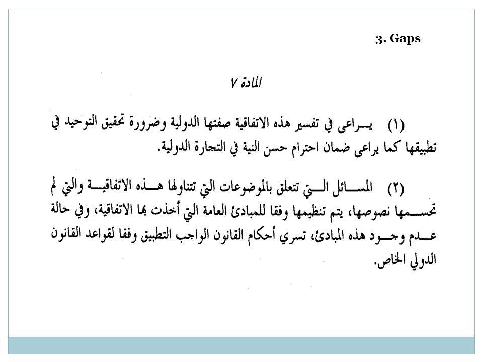 3. Gaps