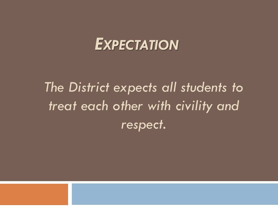 The Pillars of Character Education are essential components of the district curriculum to model appropriate behavior.