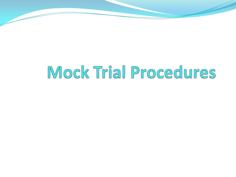  Prosecution  Responsible for proving beyond a reasonable doubt that the accused committed the crime.
