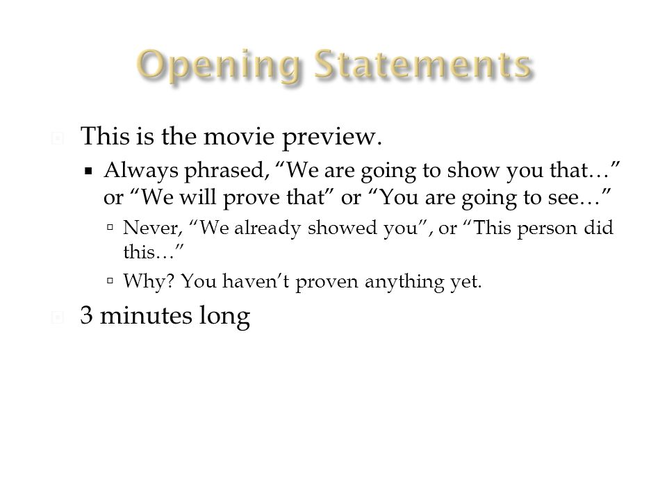  This is the movie preview.