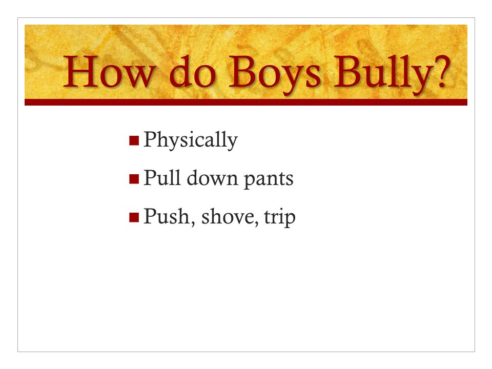 How Does it Differ from Regular Bullying.