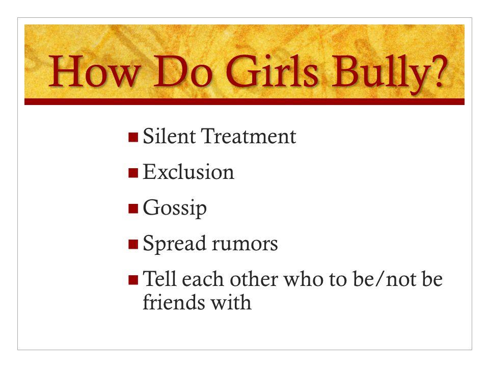 How do Boys Bully Physically Pull down pants Push, shove, trip