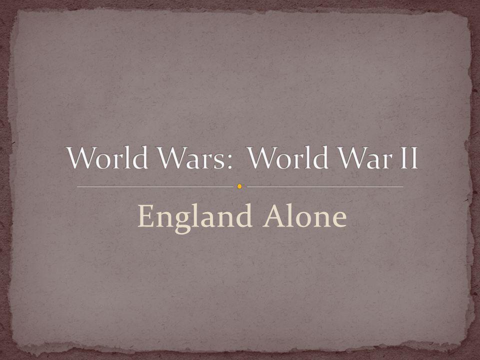 England Alone