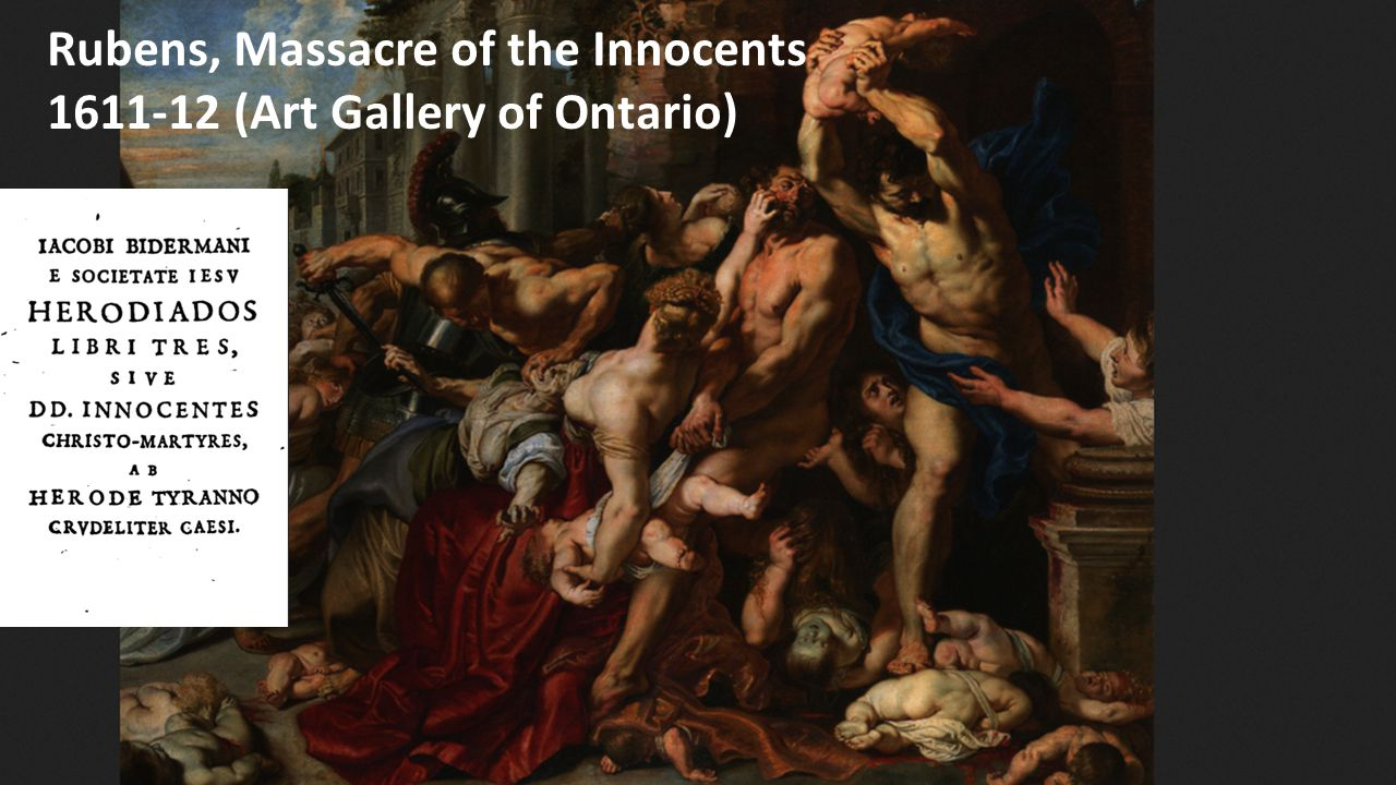 Rubens, Massacre of the Innocents (1611-12) Rubens, Massacre of the Innocents 1611-12 (Art Gallery of Ontario)