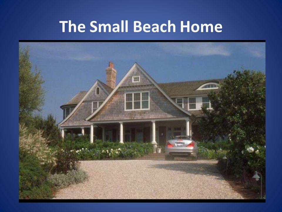 The Small Beach Home
