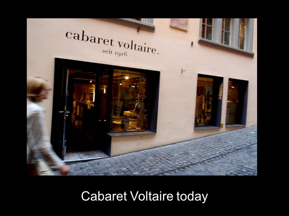 Cabaret Voltaire today