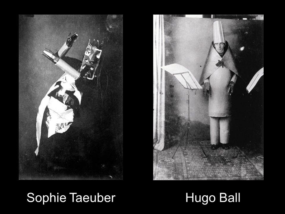 Sophie TaeuberHugo Ball