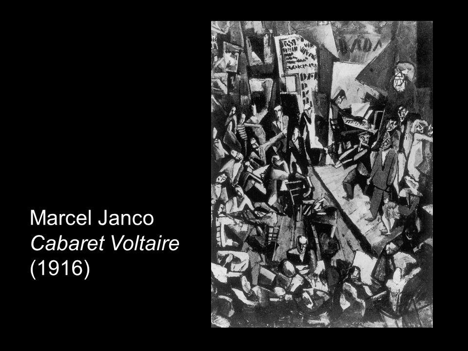 Marcel Janco Cabaret Voltaire (1916)