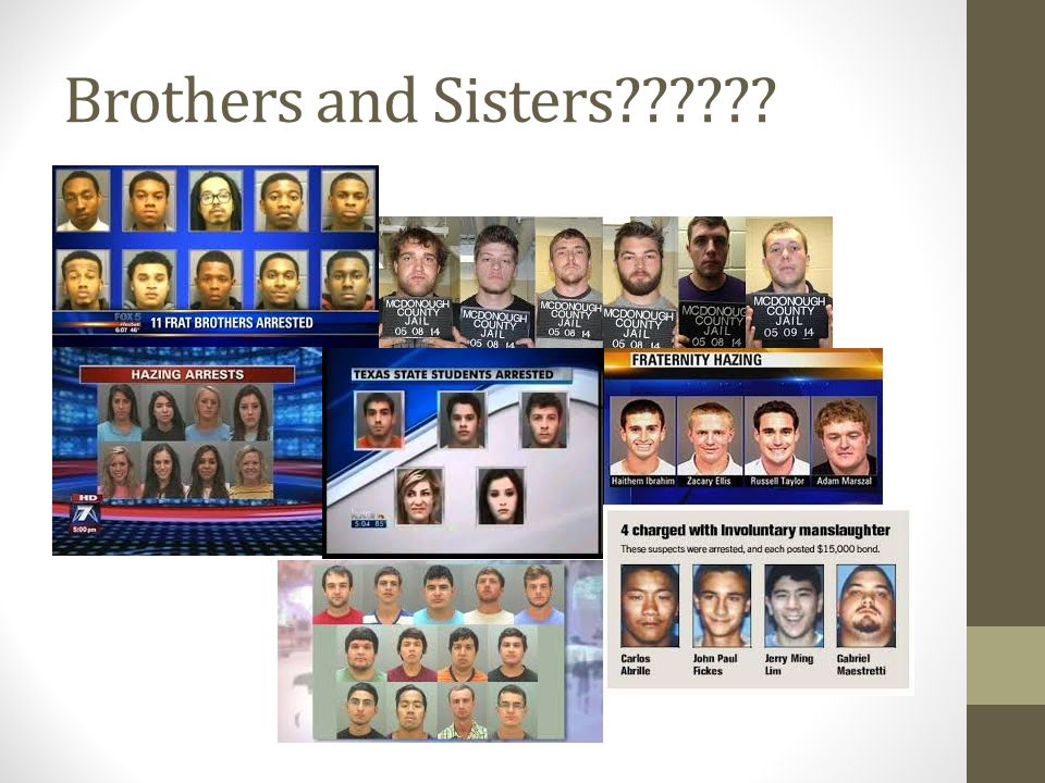 Brothers and Sisters??????