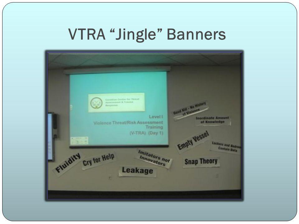 VTRA Jingle Banners