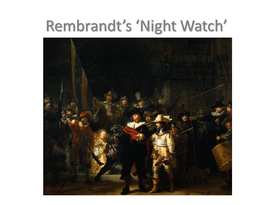 Rembrandt's 'Night Watch'