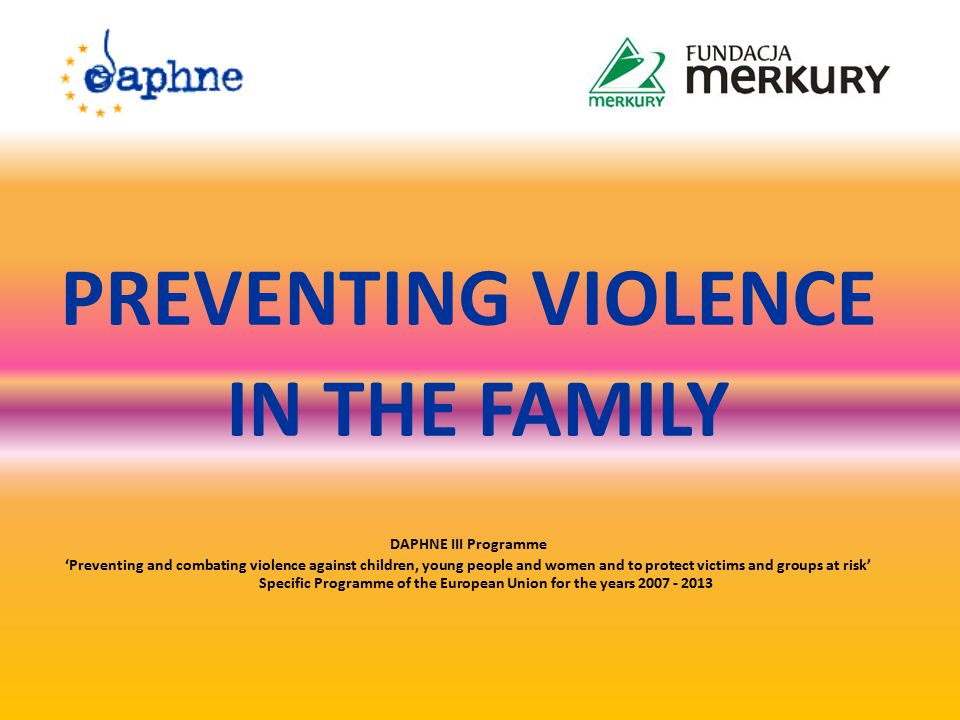 Violence in the family This is a one-off or repeated willful act or omission affecting the rights or personal rights of people, particularly those affecting people in danger of loss of life, health, affecting their dignity, physical integrity, freedom, including sexual, causing injury to the physical or mental health and the cause of suffering and moral harm in people affected by violence.