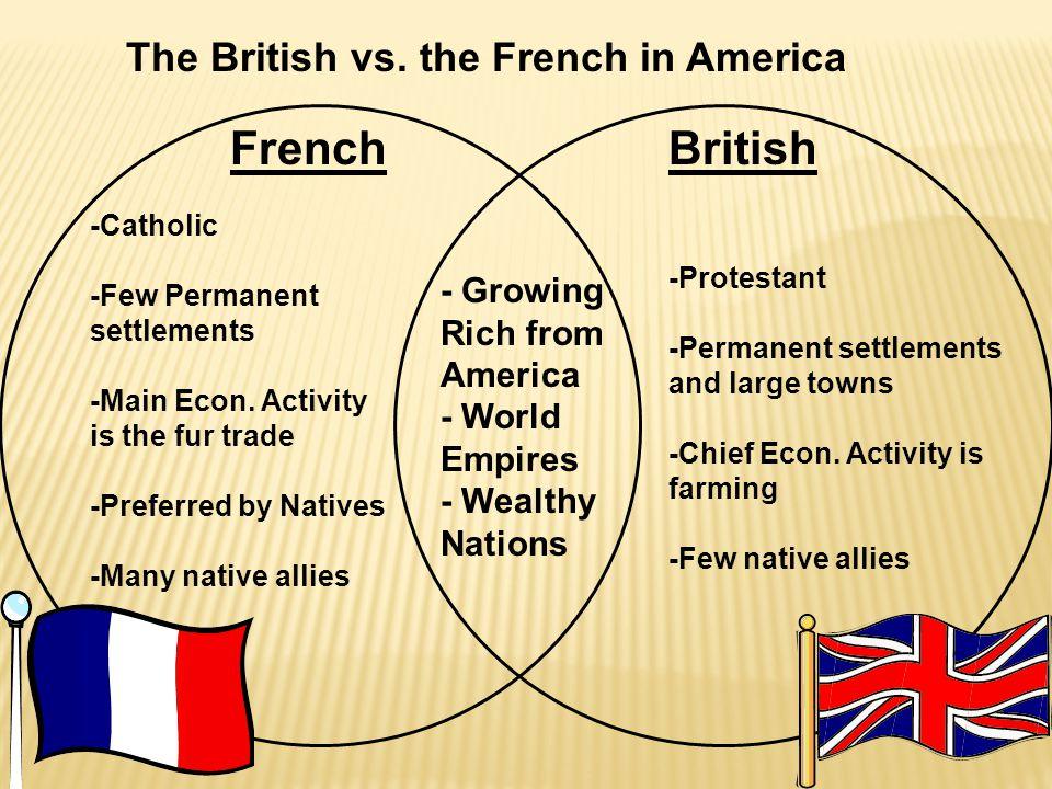 FrenchBritish The British vs.