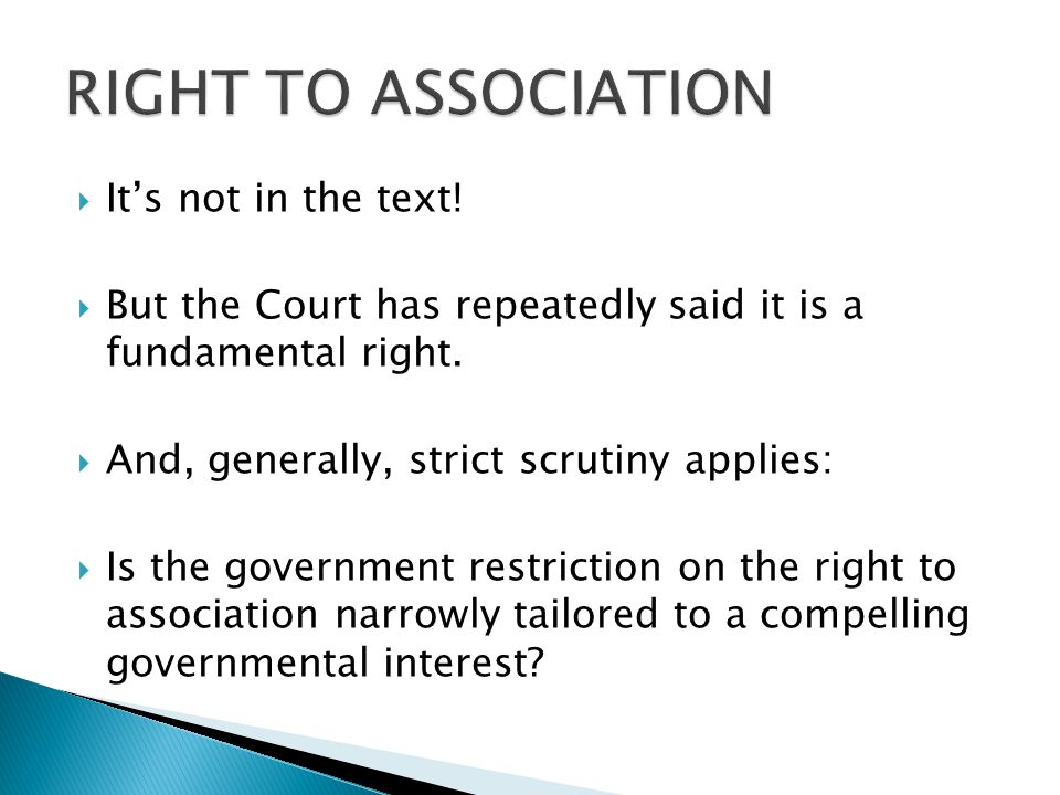  It's not in the text.  But the Court has repeatedly said it is a fundamental right.