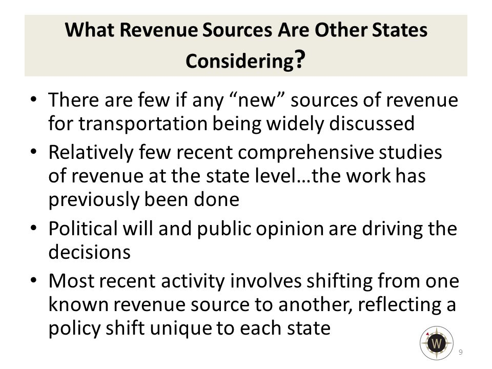 What Revenue Sources Are Other States Considering .