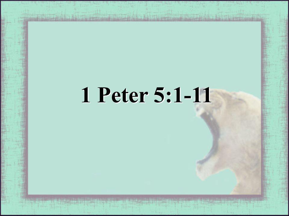 1 Peter 5:1-11