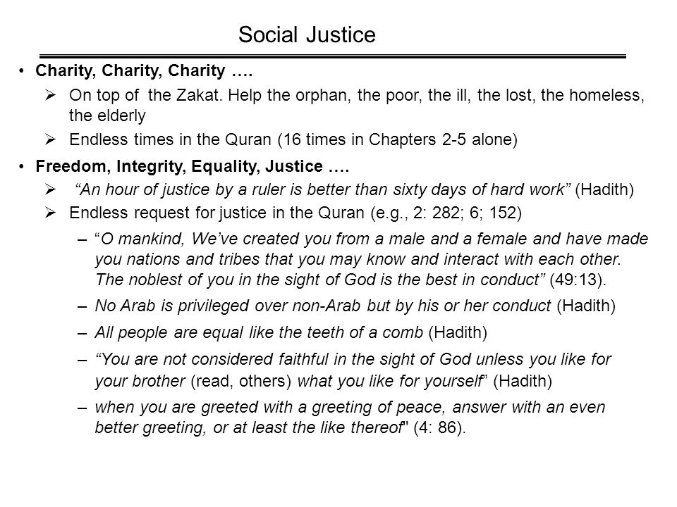 Charity, Charity, Charity ….  On top of the Zakat.