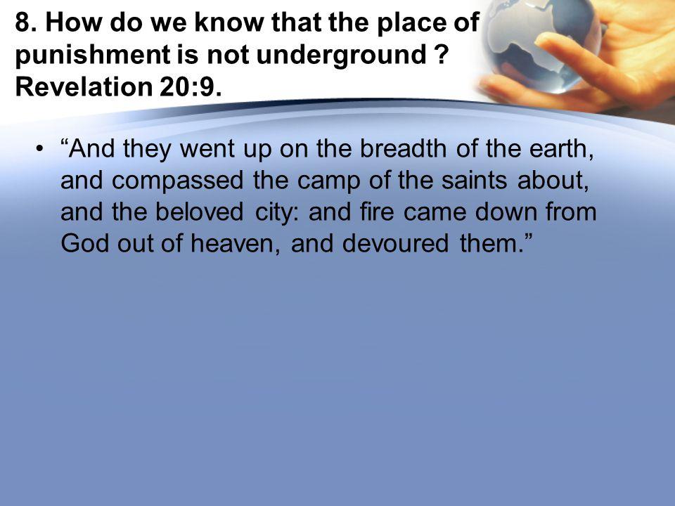 25.How completely will the fire devour Satan. Ezekiel 28:18.
