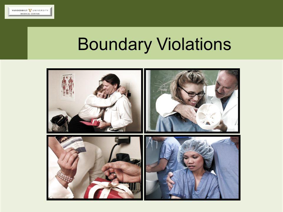 Boundary Violations