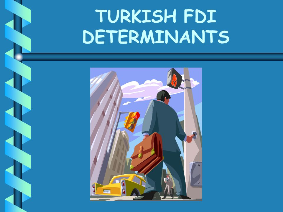 TURKISH FDI DETERMINANTS