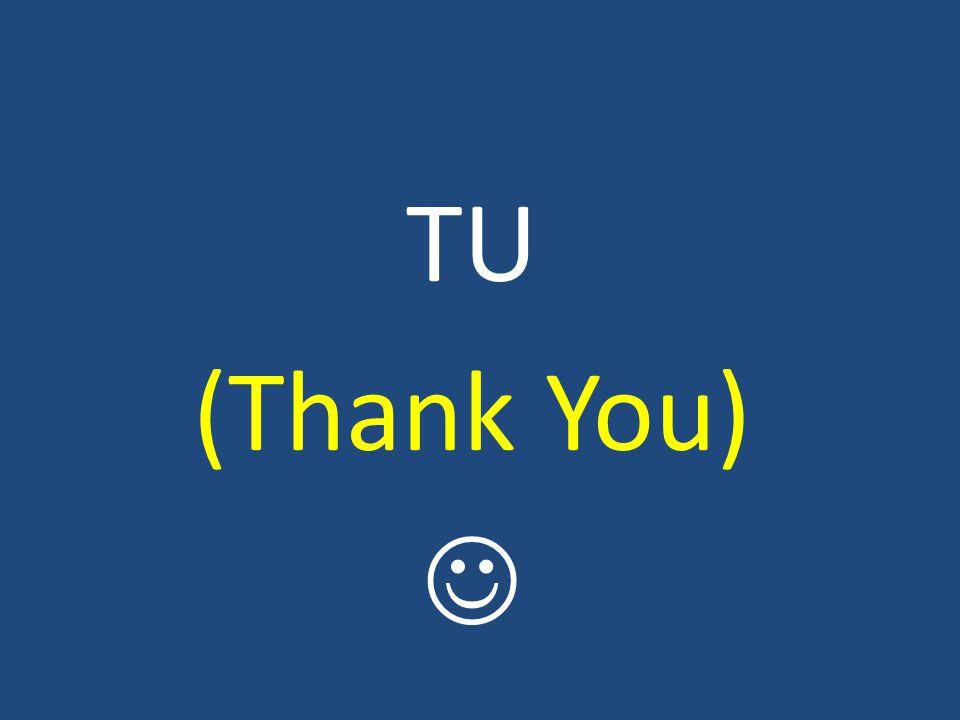 TU (Thank You)