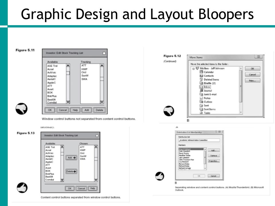 Graphic Design and Layout Bloopers