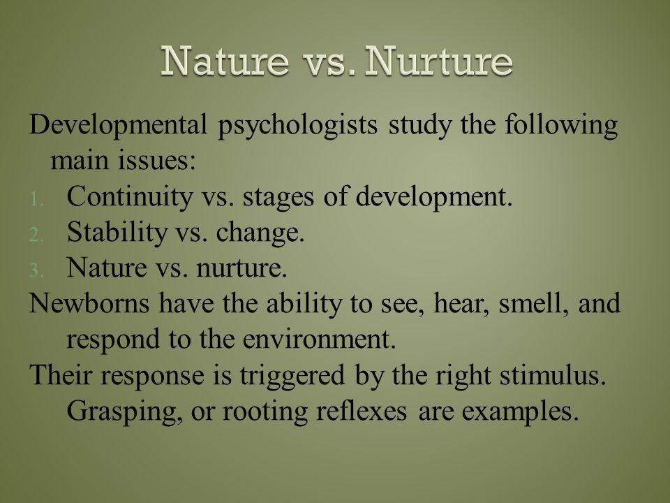  Psychologist call internally programmed growth maturation.