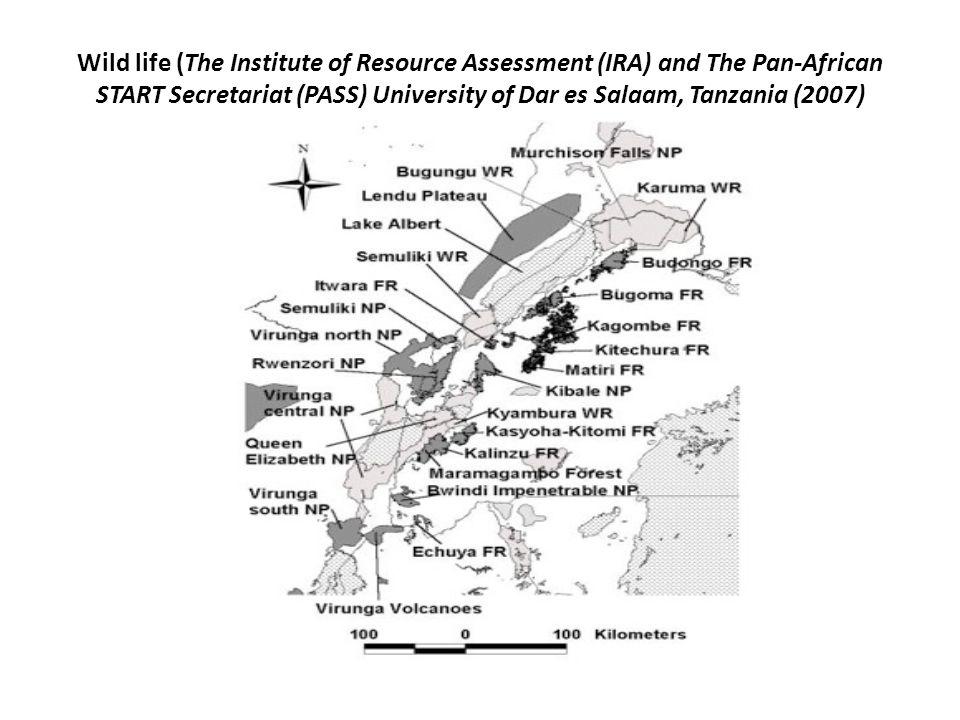 Wild life (The Institute of Resource Assessment (IRA) and The Pan-African START Secretariat (PASS) University of Dar es Salaam, Tanzania (2007)