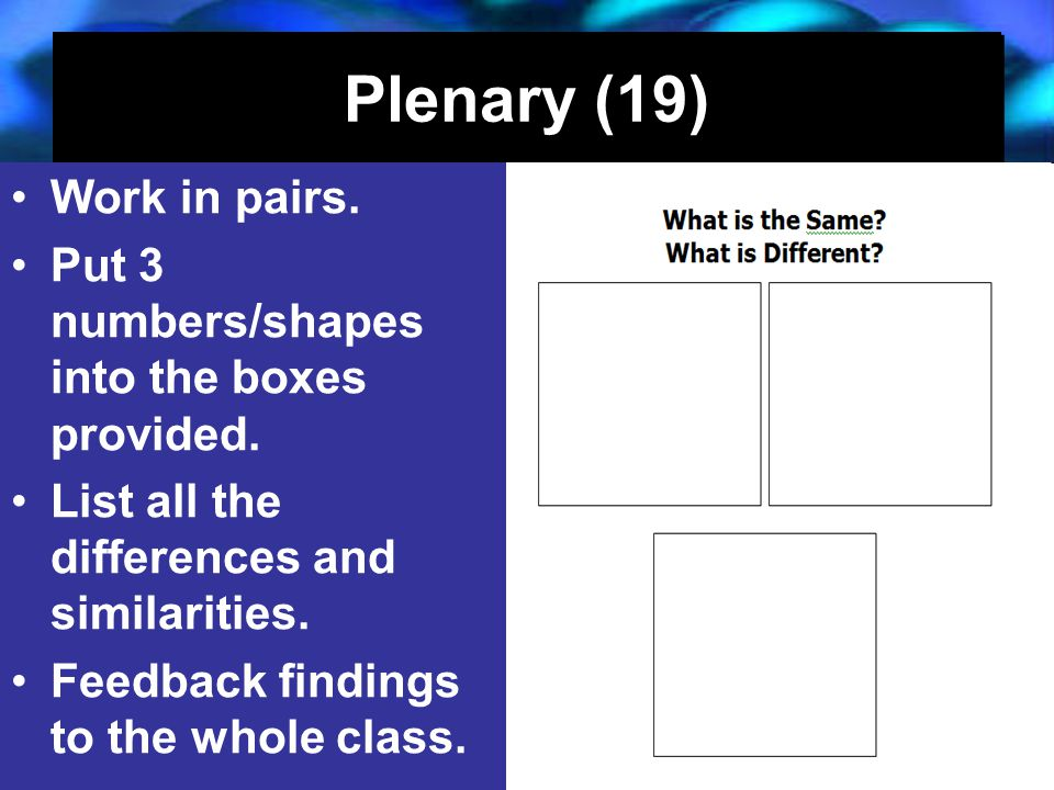 27/04/2015J. Knapp 6/0620 Plenary (19) Work in pairs.