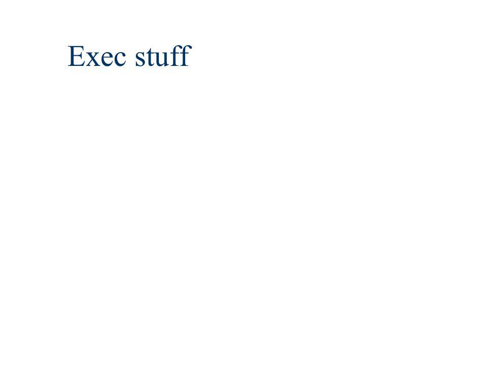 Exec stuff